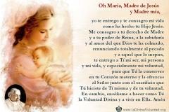 Consagración diaria a la Santísima Virgen